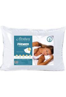 Travesseiro Premier Soft Pvc- Branco- 10X70X50Cmaltenburg