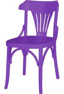 Cadeira Opzione Acabamento Roxo - 19134 - Sun House