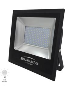 Refletor Led Slim 200W Bivolt Branco Frio 6000K - 74200600 - Blumenau - Blumenau