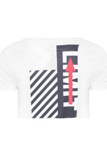 Camiseta Masculina Forget Rules Loose - Branco