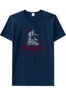 Camiseta Slim Estampada Malwee