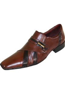 Sapato Social Gofer Premium Marrom