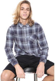 Camisa Billabong Reta Freemont Azul