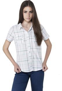 Camisa Xadrez Saloon 33 Azul