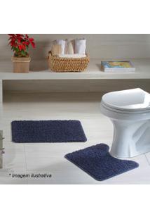 Jogo Para Banheiro- Azul Marinho- 2Pçs- Oasisoasis