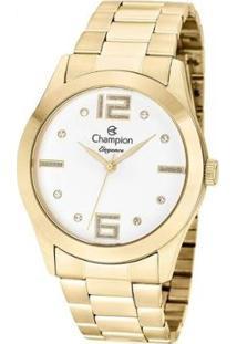 Relógio Champion Feminino Elegance - Feminino-Dourado