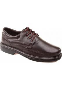 Sapato Luflex 6032 Masculino Café