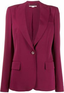 Stella Mccartney Blazer Com Abotoamento Único - Vermelho