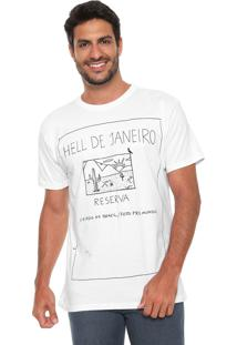 Camiseta Reserva Hell De Janeiro Branca