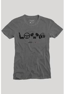 Camiseta Reserva Love Masculina - Masculino-Preto