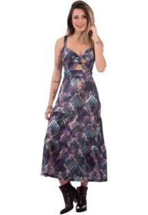Vestido Aura Alças Cobra Feminino - Feminino