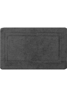 Tapete De Banheiro Bogotã¡- Cinza Escuro- 140X60Cm