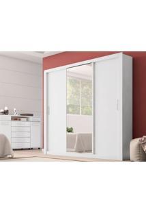 Guarda-Roupa Casal Residence Branco - Lc Móveis