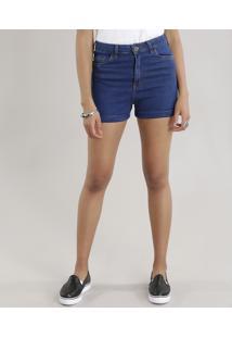 b483874d0b ... Short Jeans Hot Pant Azul Escuro