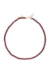 Colar Choker Granada Amuleto Em Prata 950
