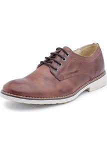 4360d8d74 ... Sapato Casual Bergally Retro Marrom Fosco
