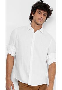 Camisa Ellus Regular Fit Basic Masculina - Masculino