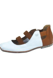Sapato Ipadma Couro Branco