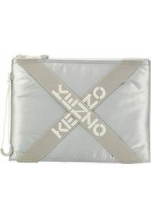 Kenzo Clutch Grande Kenzo Sport - Verde