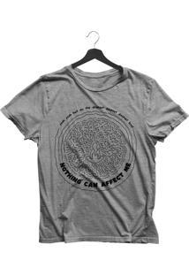 Camiseta Feminina Joss Meditation Cinza Mescla - Kanui