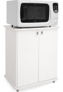 Armário Para Micro-Ondas Bento 2 Pt Branco