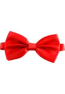 Gravata Borboleta Pazan Vermelha