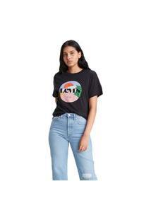 Camiseta Levi'S Graphic Varsity - 12141 Preto