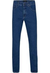 Calça Jeans Azul Road Masculina - Masculino-Azul