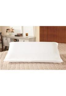 Fronha Para Travesseiro Plumasul Em Percal 200 Fios 50 X 90 Cm – Branca