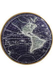Quadro Decorativo Cartographie