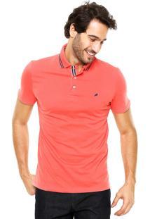 Camisa Polo Enfim Slim Coral