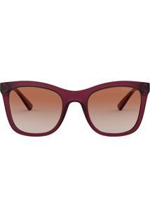Óculos De Sol Marrom Vinho feminino   Shoelover e8ede97389