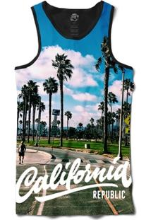 Camiseta Bsc Regata California Rep Full Print - Masculino
