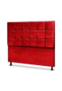 Cabeceira Queen Espanha 160 Cm Animale Vermelho Casah