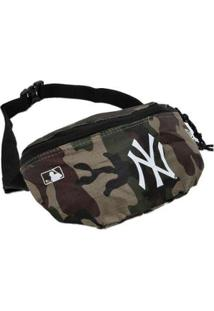 Pochete Waist Bag New Era New York Yankees Mlb Camuflado - Unissex