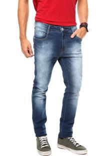 Calça Jeans Coca-Cola Jeans Estonada Azul