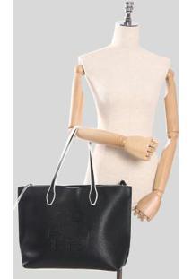Bolsa Shopping Ana Hickmann Mandala Preto