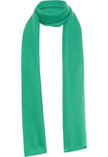 Xale Feminino Vanessa Flag - Verde