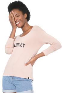 Blusa Hurley Lounge Rosa