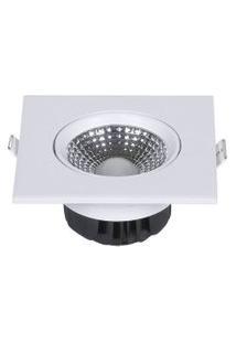 Spot Quadrado Branco Com Led 6500K Startec & Co