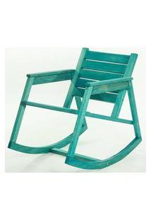Cadeira Balanco Janis Azul 80Cm - 61408 Sun House
