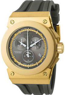 Relógio Invicta Analógico 012010 Masculino - Masculino-Dourado