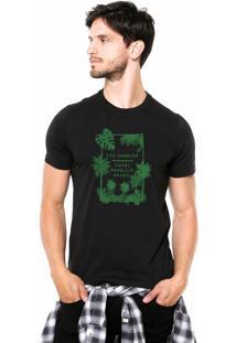 Camiseta Rgx La Capri Med Br Preta