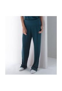 Calça Liz Easywear Malha Azul