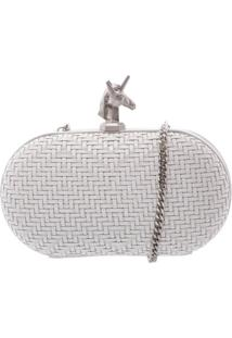 Clutch Unicorn Pearl | Schutz