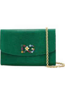 Dolce & Gabbana Clutch St. Iguana - Green