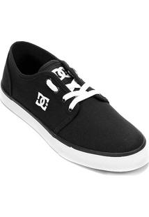 Tênis Dc Shoes Studio Tx La Masculino - Masculino-Preto+Branco