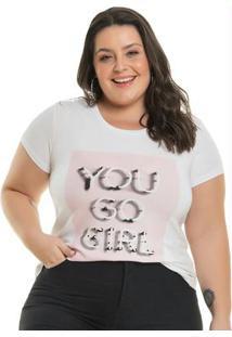 Blusa Go Girl Branco