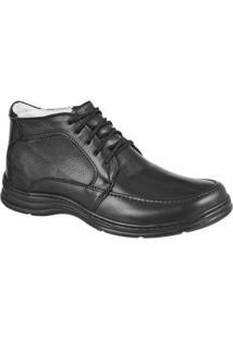 Sapato Confort Plus Bmbrasil 2713 - Masculino-Preto