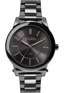 Relógio Euro Feminino Assimetric Glam Eu2036Yms/4C